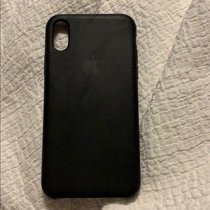 blake apple silicon iphone x phone case